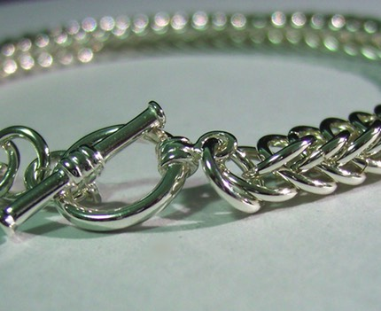 Sterling Silver Half Persian 4-in-1 Bracelet